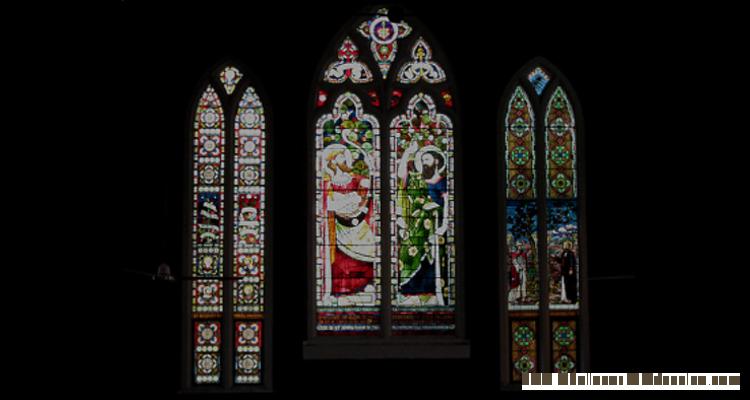 St Andrew's Scots Presbyterian Church Rose Bay Sydney -  Windows