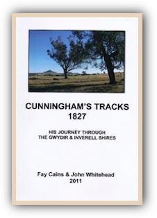 Cunningham's Tracks 1827 by Fay Cains and John Whitehead
